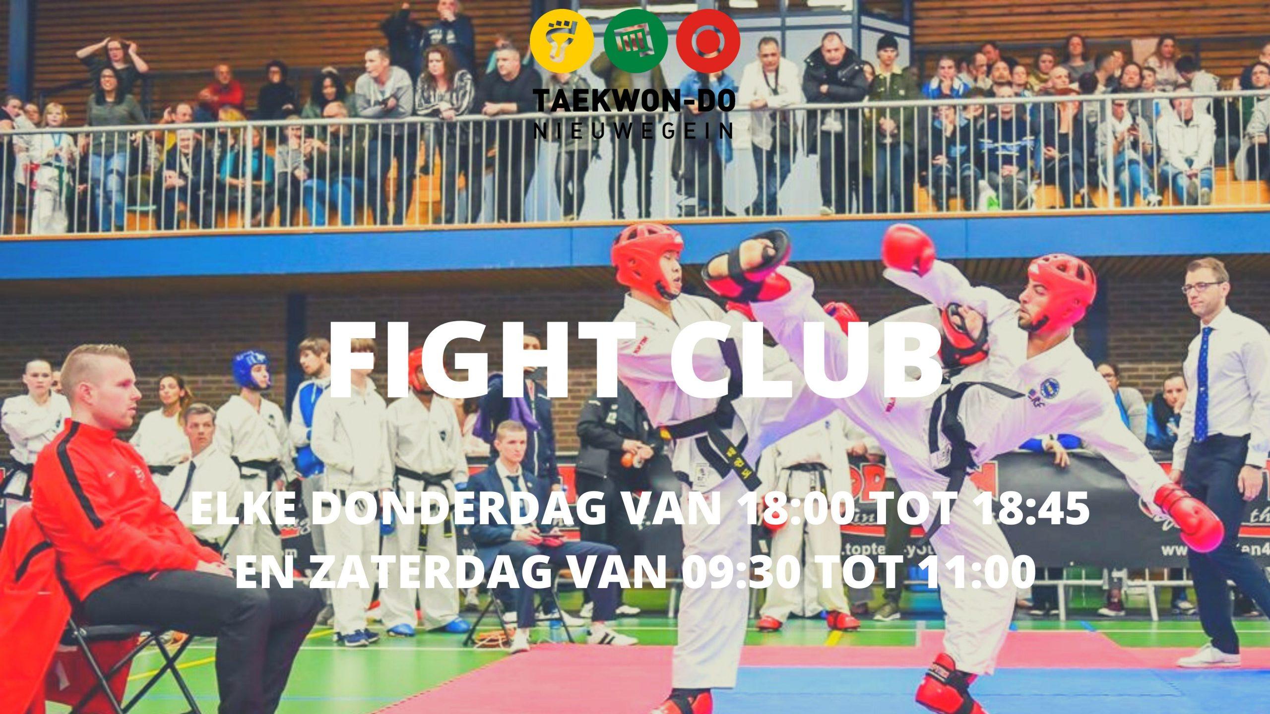 Fight Club Taekwon-Do Nieuwegein