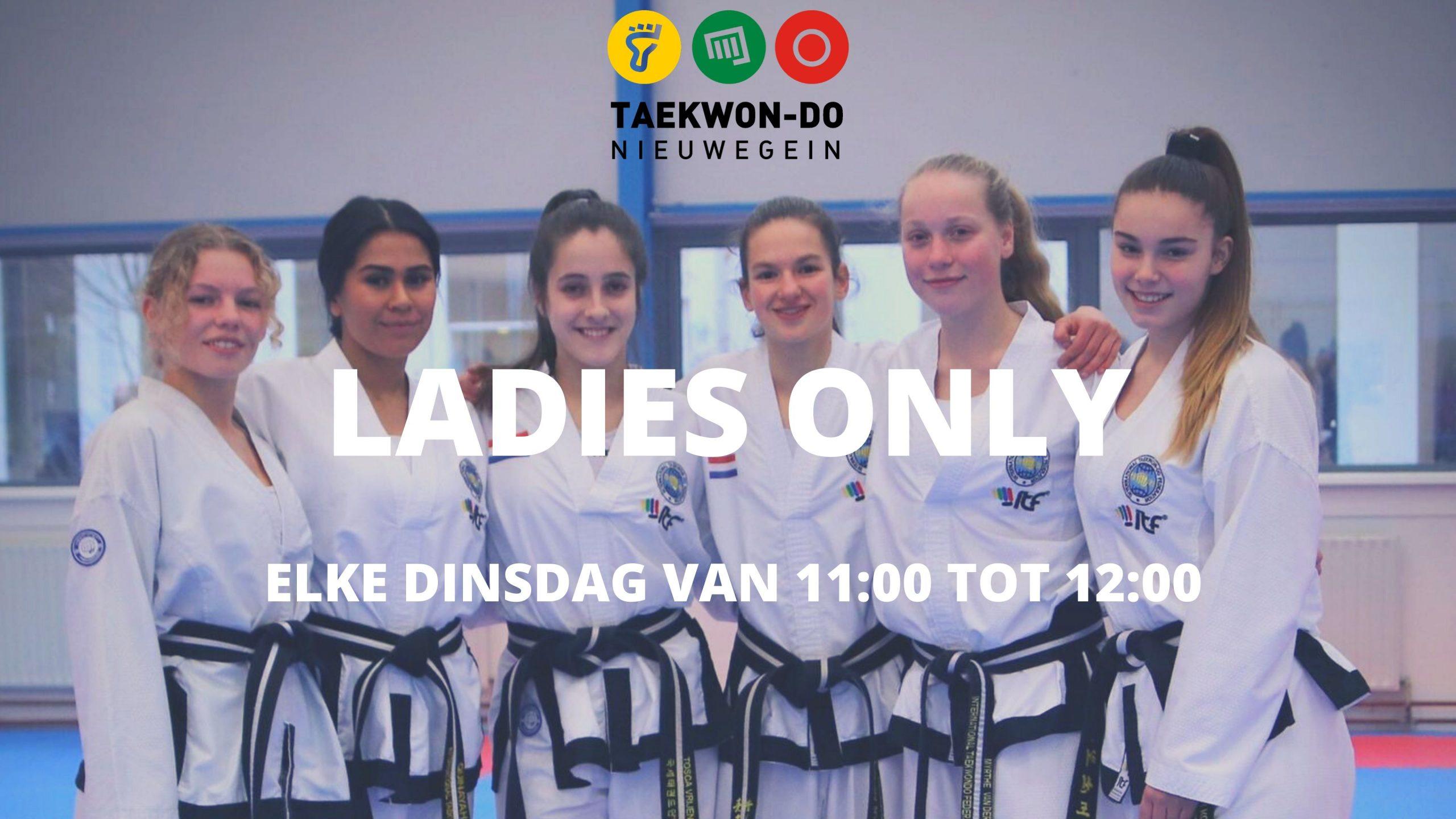 Ladies Only Taekwon-Do Nieuwegein