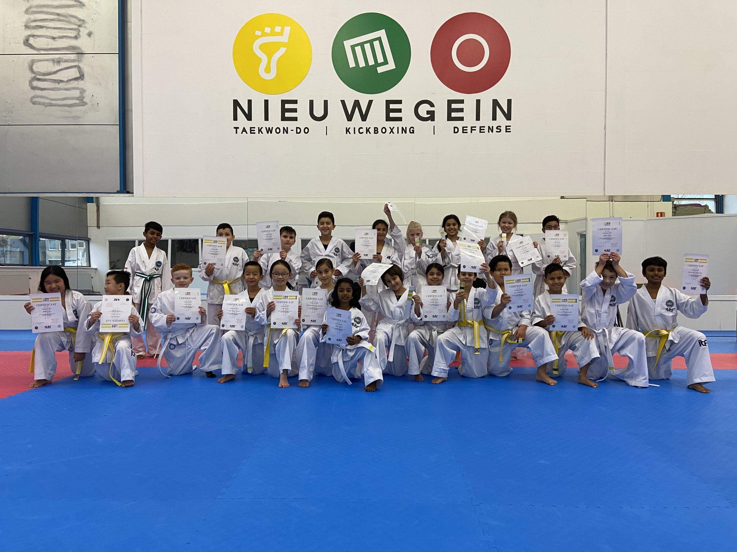Gupexamen Jeugd | Taekwon-Do Nieuwegein