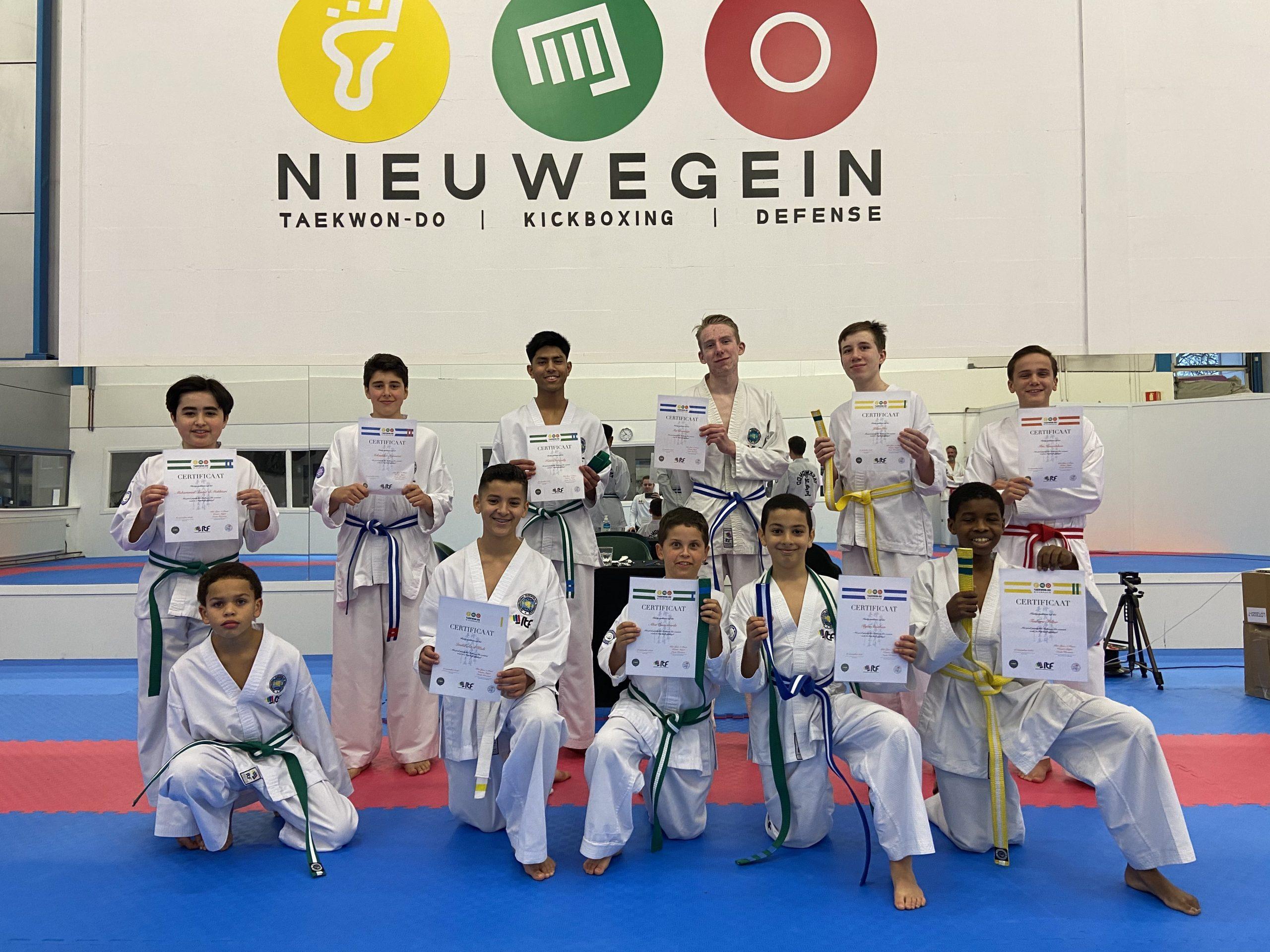 Gupexamen Junioren | Taekwon-Do Nieuwegein